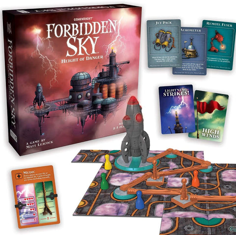 00424 Gamewright Forbidden Sky (T)