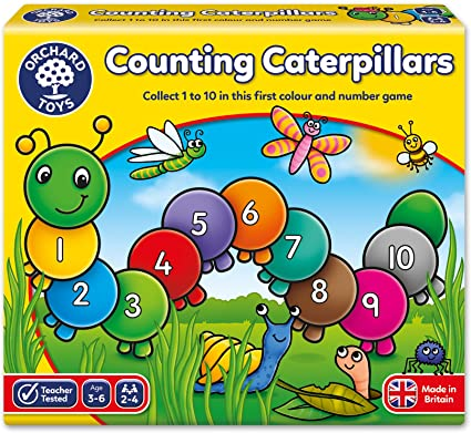 075 Orchard Counting Caterpillars