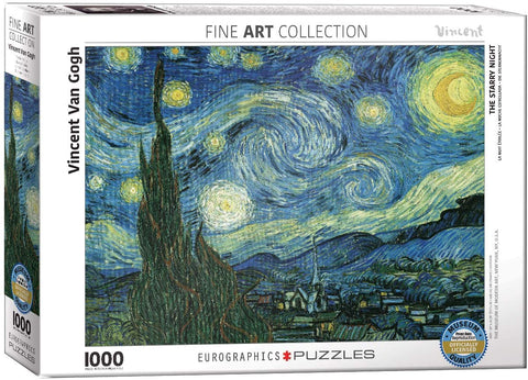 6000-1204 Eurographics Vincent Van Gogh, Starry Night
