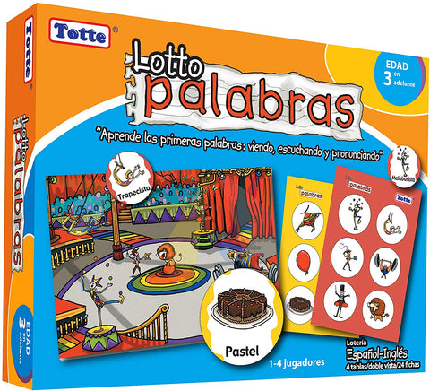 T102 Totte Lotto Palabras (Español-Ingles) (T)