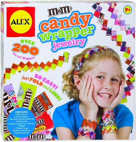 759W Alex M&M Candy Wrapper Jewelry (T)