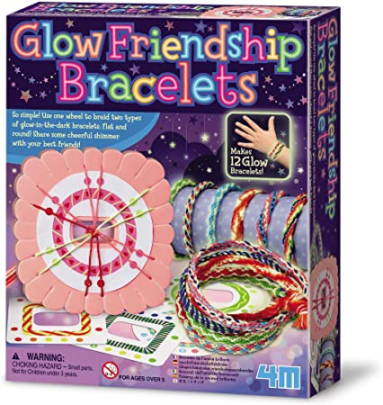 04662 4M Glow Friendship Bracelets (T)