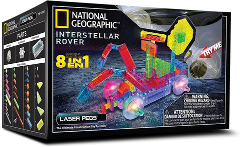 NG700 Laser Pegs Power Block Series NatGeo Interstellar Rover Eight in One