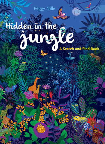 J6539 Peter Pauper Seek and Find Hidden in the Jungle