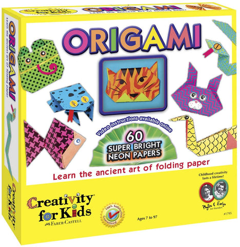 CFK-1795 Creativity for Kids Origami Neon