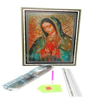 DM-1 Educar Arte Diamante Virgen 30x40 cm