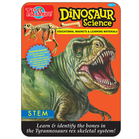 4337 Shure Dinosaur Science Educational Magnets