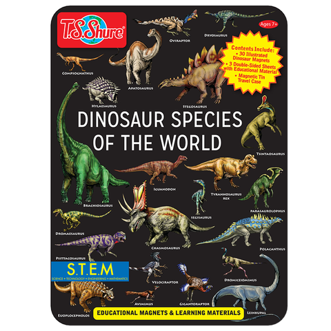 4344 Shure Dinosaur Species of the World (T)