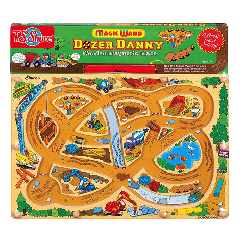 1062 Shure Magic Wand Dozer Danny Wooden Magnetic Maze (T)