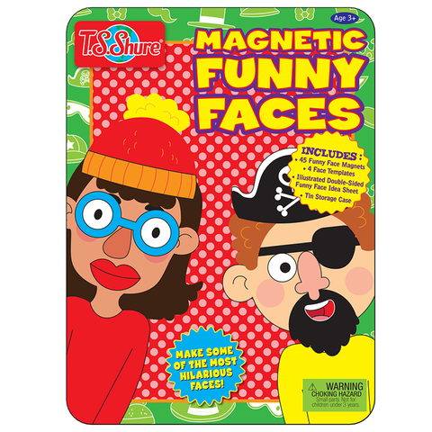 4085 Shure Magnetic Funny Faces (T)