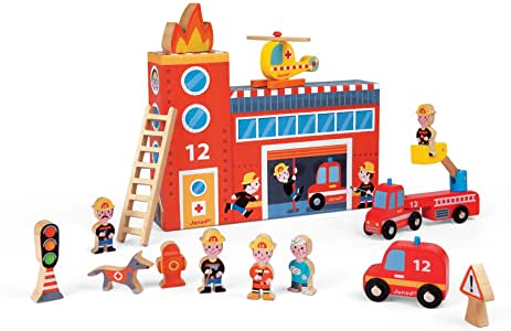 J08522 Janod Story Box Firefighters (T)