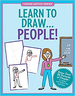 J9547 Peter Pauper Young Artist Series Learn to Draw... People