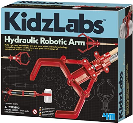 03414 KidzLabs Hydraulic Robotic Arm