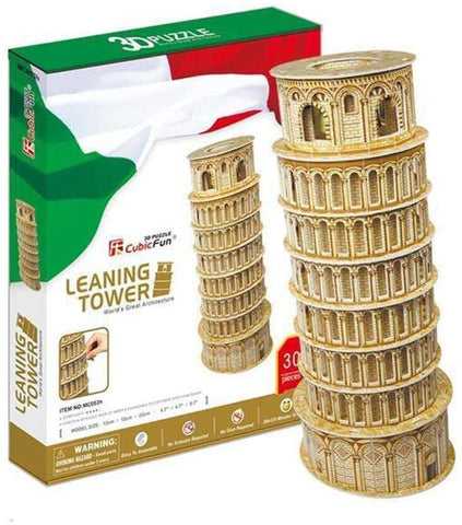 MC053h Cubic Fun Leaning Tower of Pisa 3D