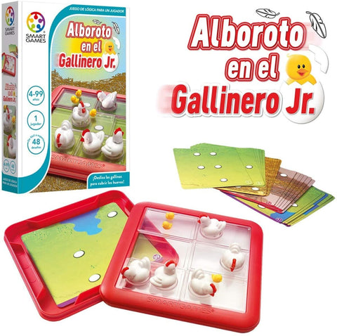 SG 441 Smart Games Alboroto en el Gallinero Jr. (T)