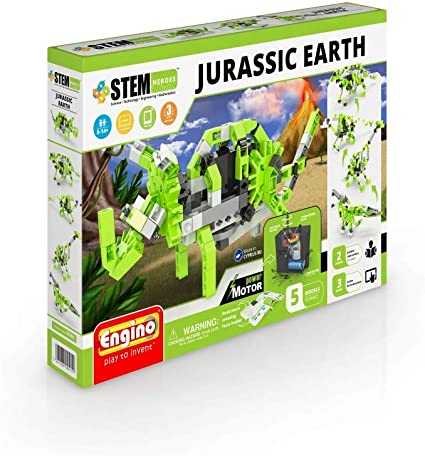 STH61 Engino STEM Heroes Jurassic Earth