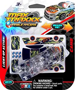 08617 Skullduggery Marble Racers Max Traxxx Light Up Camo