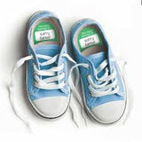 28542 Stuckonyou Write on Stick on Shoe Labels azul