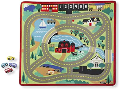 19400 M&D Around the Town Road Rug (T)