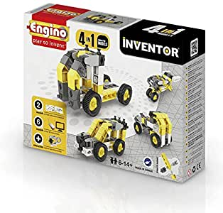 0434 Engino Inventor Four in One industria (T)
