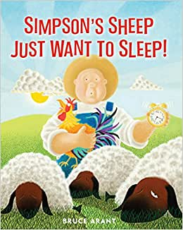 J4293 Peter Pauper Simpson's Sheep Just Want to Sleep (T)