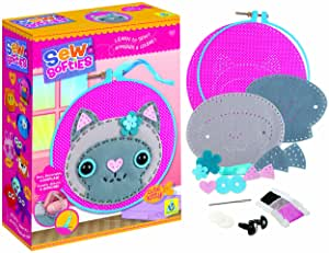 74616 Orb Sew Softies Cute Kitty