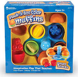 LER7310 Learning Resources Smart Snacks Peek-a-Boo Color Muffins