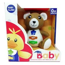 8061 Huanger Baby Sunki Oso musical (T)
