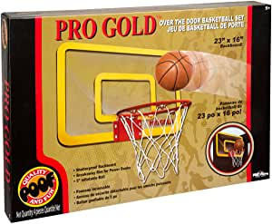 464BL Poof Pro Gold Basketball  Set (T)