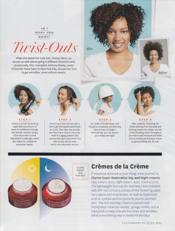 Print Hair Rules - Edit your hairstyle