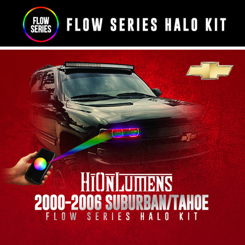 2000-2006 Chevrolet Suburban/Tahoe Flow Series Halo Kit