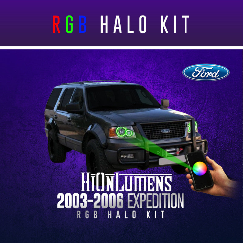 2003-2006 Ford Expedition RGB Halo Kit