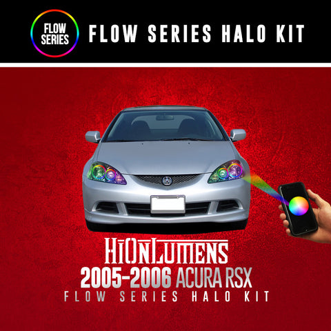 2005-2006 Acura RSX Flow Series Halo Kit
