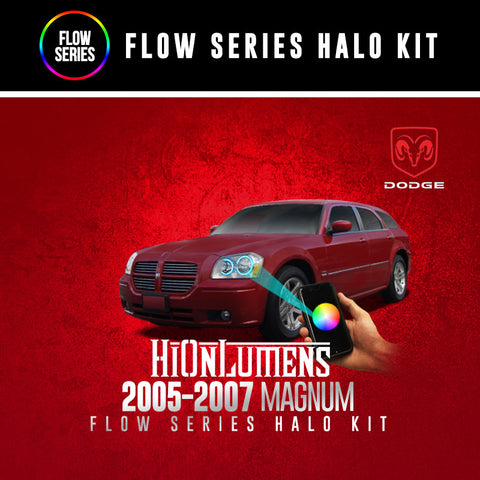 2005-2007 Dodge Magnum Flow Series Halo Kit