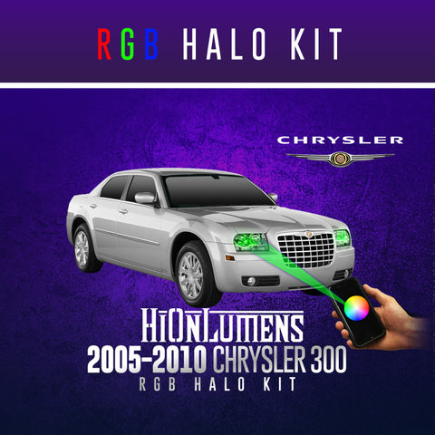 2005-2010 Chrysler 300 RGB Halo Kit