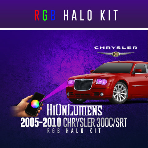 2005-2010 Chrysler 300C/SRT RGB Halo Kit