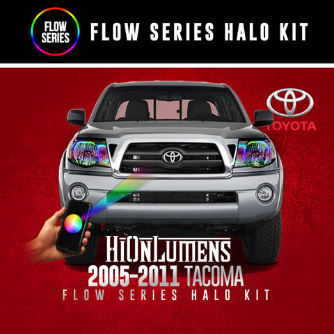 2005-2011 Toyota Tacoma Flow Series Halo Kit