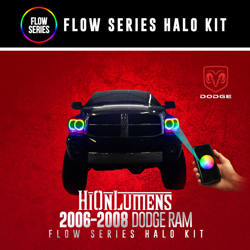 2006-2008 Dodge Ram Flow Series Halo Kit
