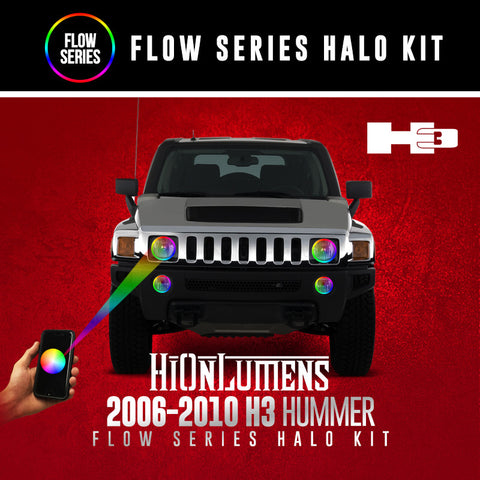 2006-2010 H3 Hummer Flow Series Halo kit