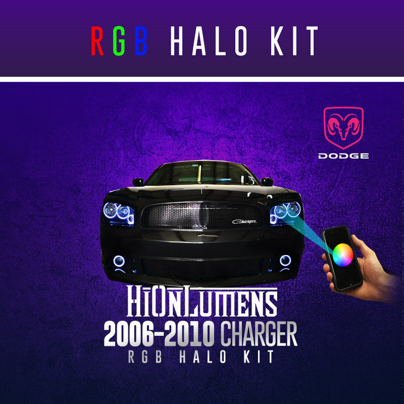 2006-2010 Dodge Charger RGB Halo Kit