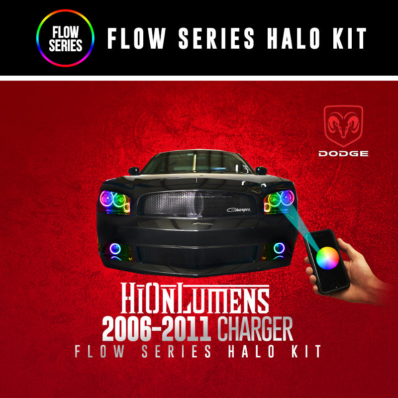 2006-2011 Dodge Charger Flow Series Halo Kit