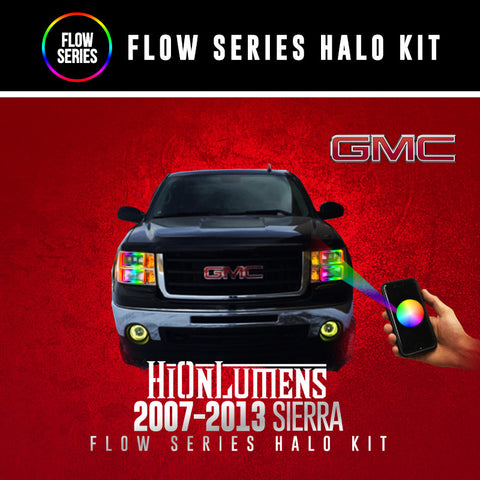 2007-2013 GMC Sierra Flow Series Halo Kit
