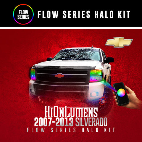2007-2013 Chevrolet Silverado Flow Series Halo Kit