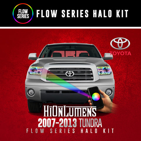 2007-2013 Toyota Tundra Flow Series Halo Kit