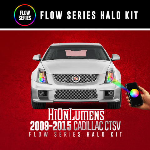 2009-2015 Cadillac CTSV Flow Series Halo Kit