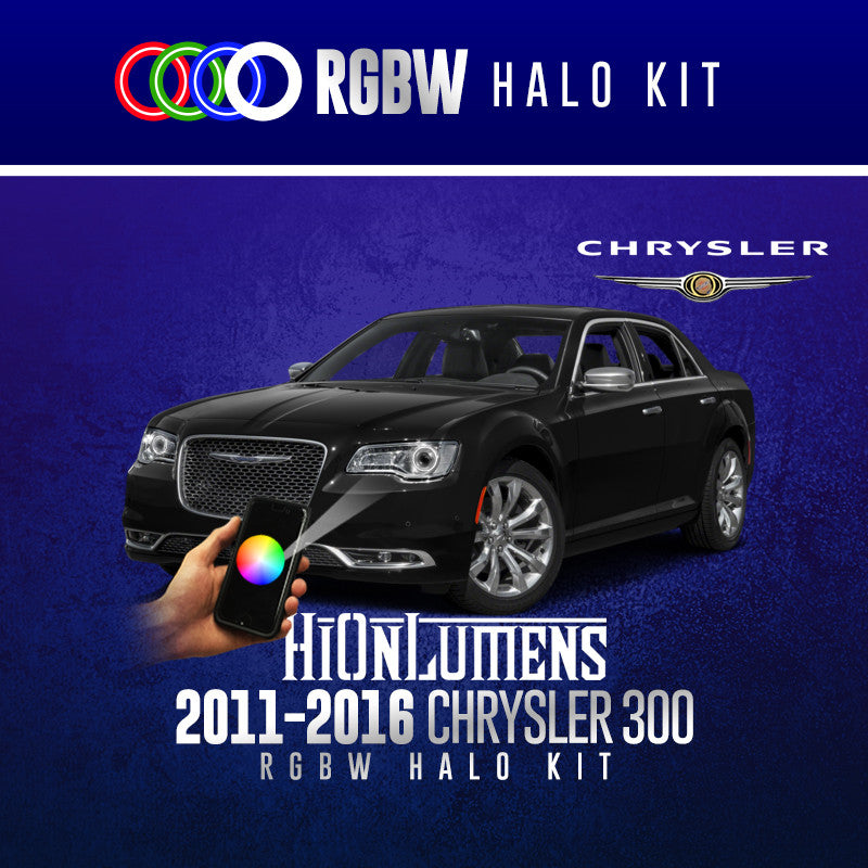 2011-2016 Chrysler 300 RGBW Halo Kit