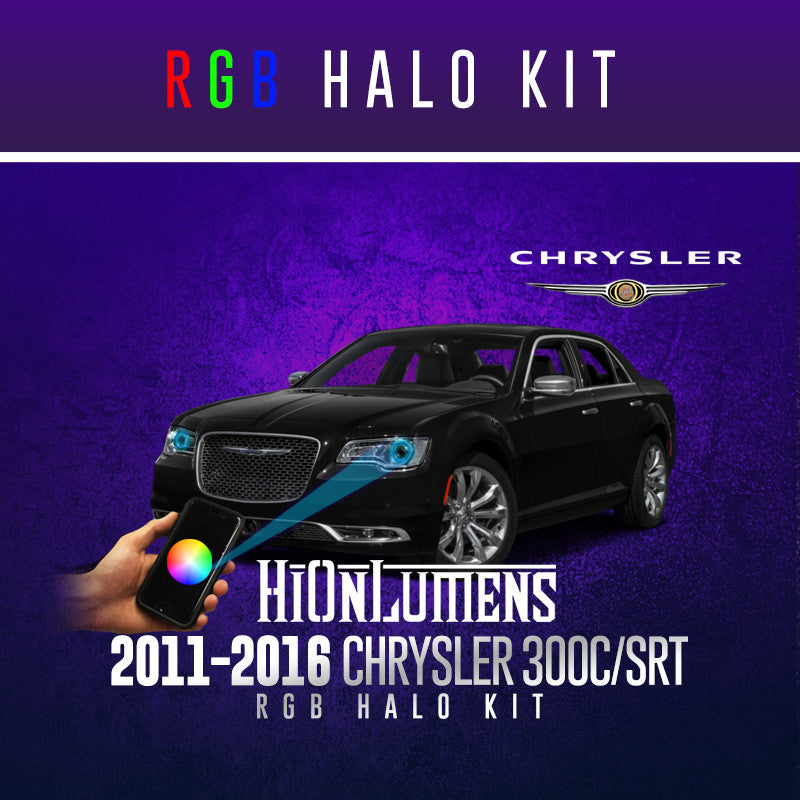 2011-2016 Chrysler 300 RGB Halo Kit