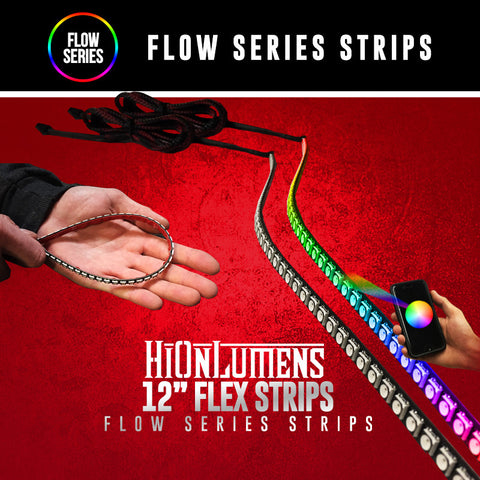 "12"" Flow Series Flex Strips"