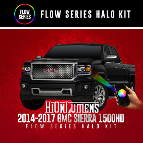 2014-2017 GMC Sierra 1500 Flow Series Halo Kit