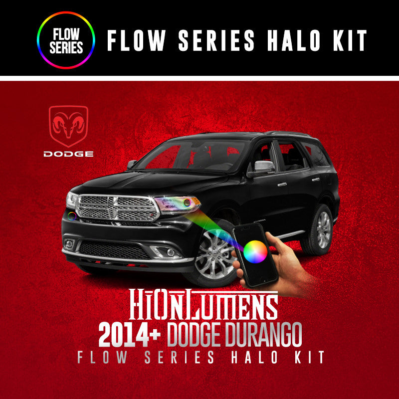 2014+ Dodge Durango Flow Series Halo Kit